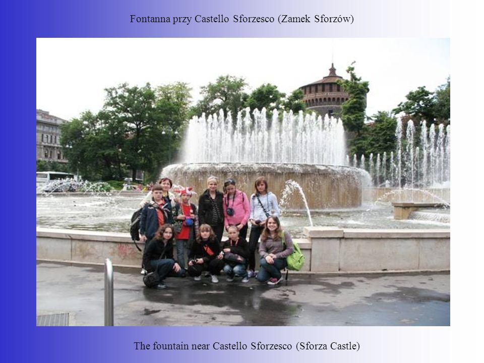 Fontanna przy Castello Sforzesco (Zamek Sforzów)