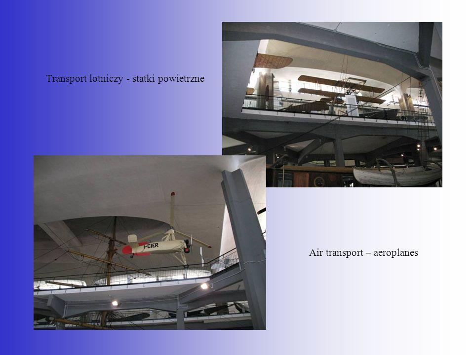 Transport lotniczy - statki powietrzne