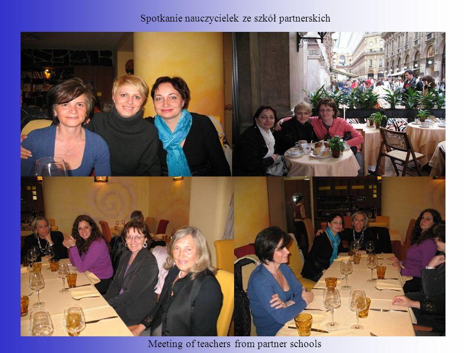 Spotkanie nauczycielek ze szkół partnerskich