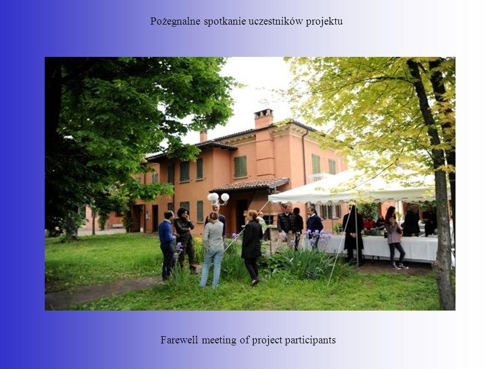 Pożegnalne spotkanie uczestników projektu