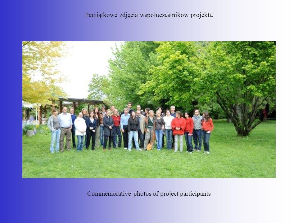 Pamiątkowe zdjęcia współuczestników projektu