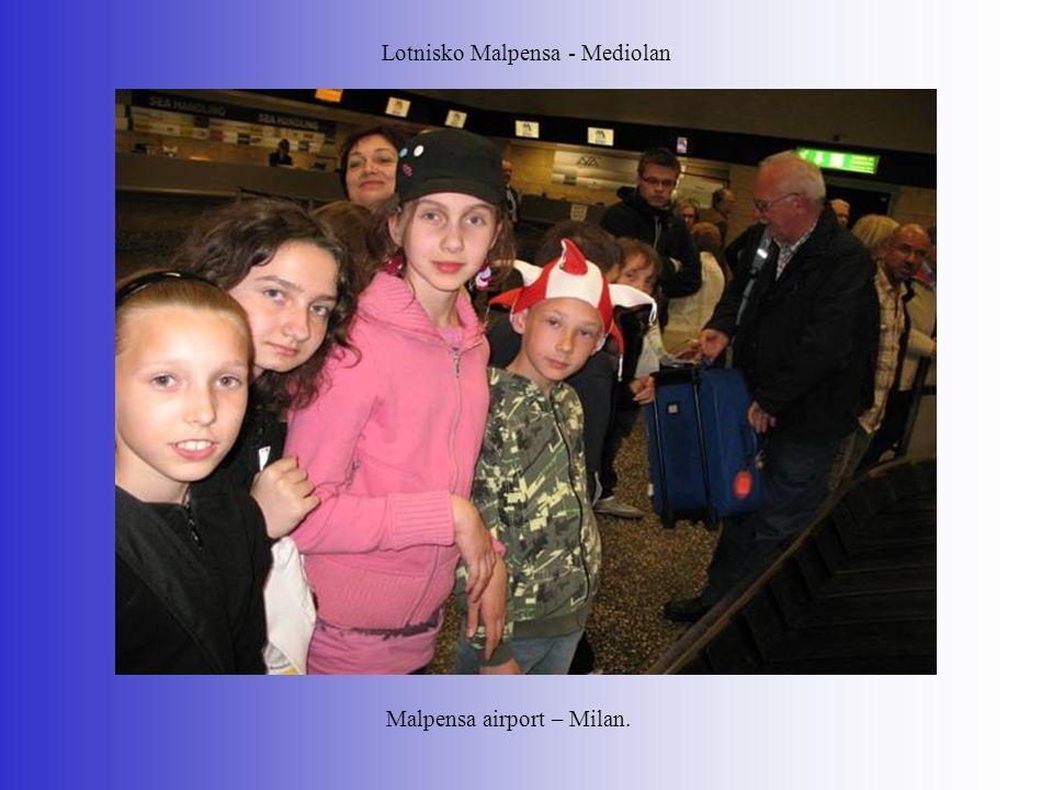 Lotnisko Malpensa - Mediolan