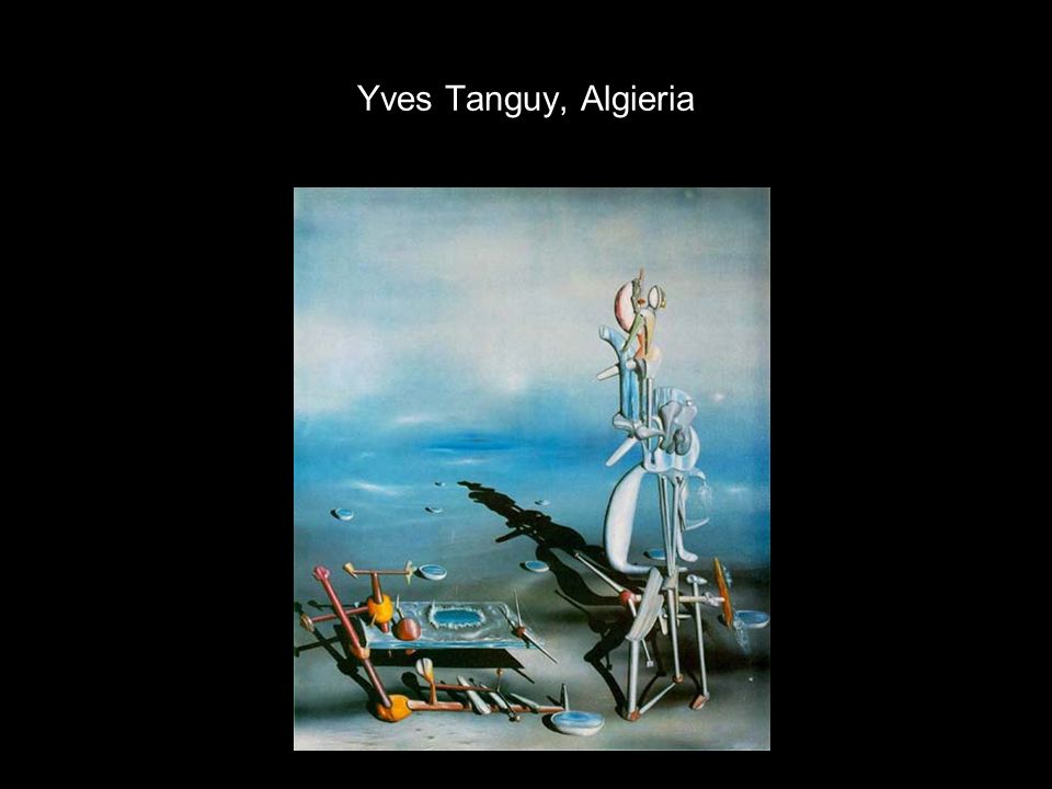 Yves Tanguy, Algieria