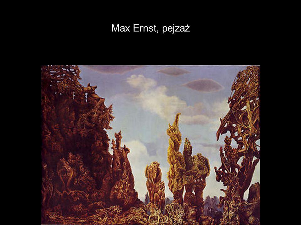 Max Ernst, pejzaż