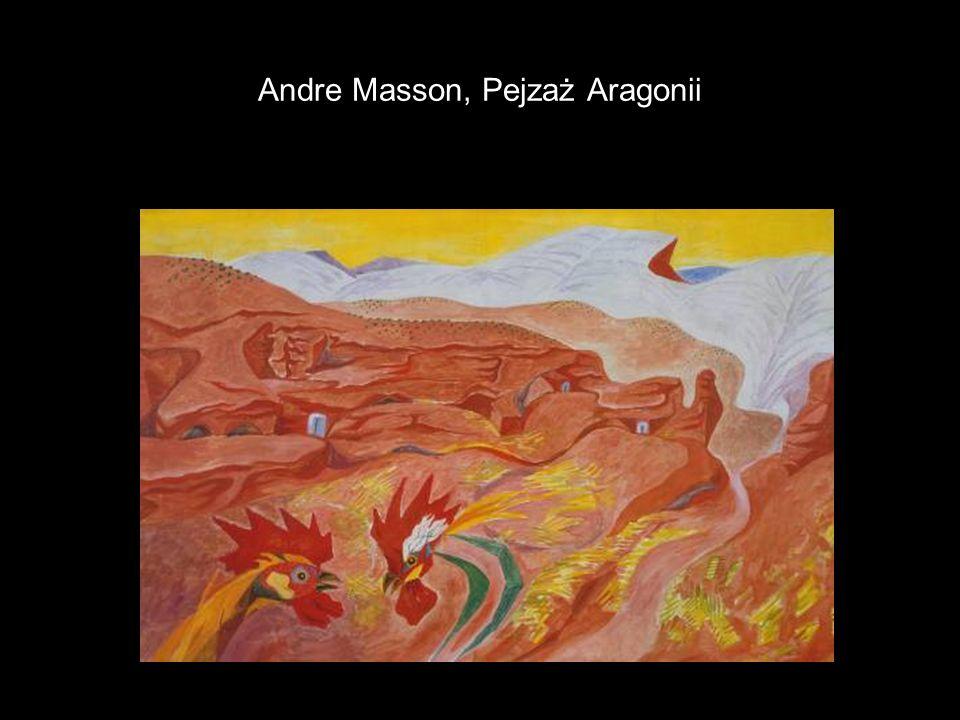 Andre Masson, Pejzaż Aragonii