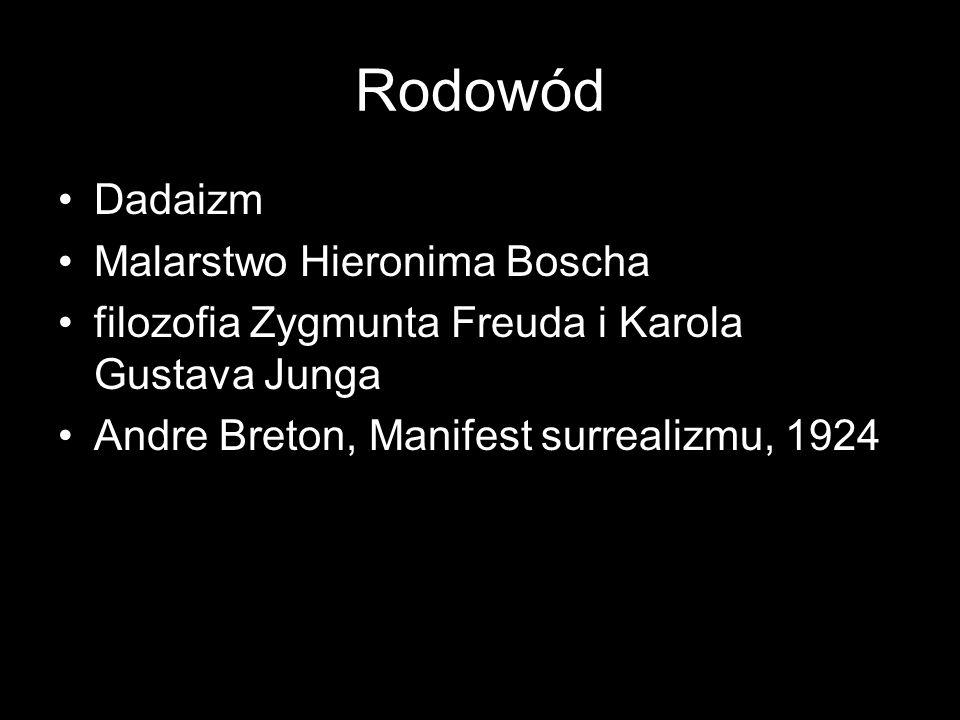 Rodowód Dadaizm Malarstwo Hieronima Boscha