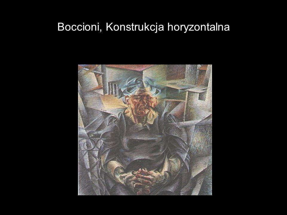 Boccioni, Konstrukcja horyzontalna