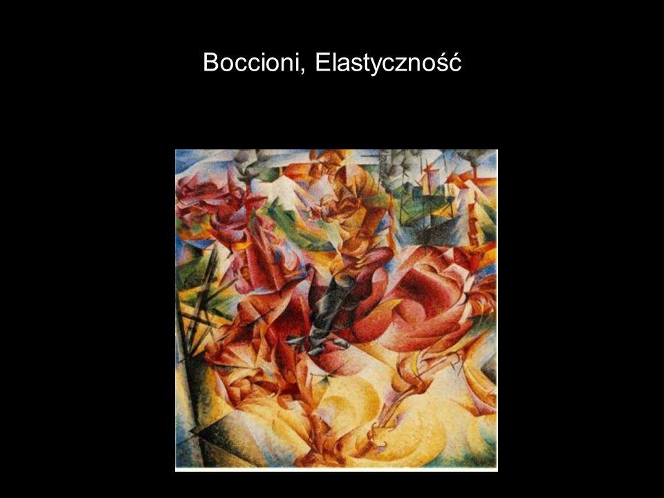 Boccioni, Elastyczność