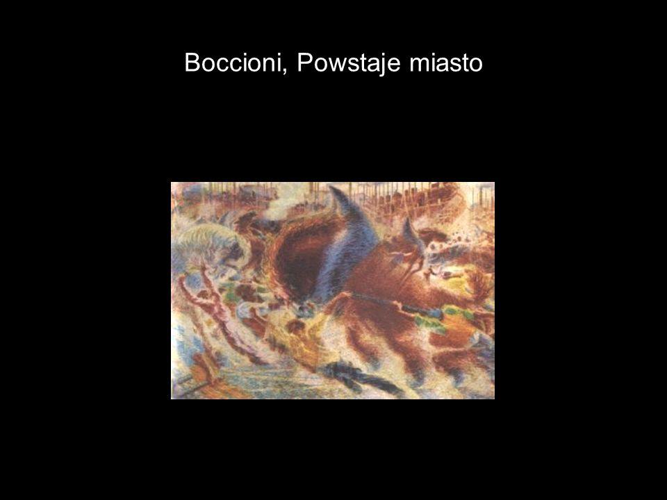 Boccioni, Powstaje miasto