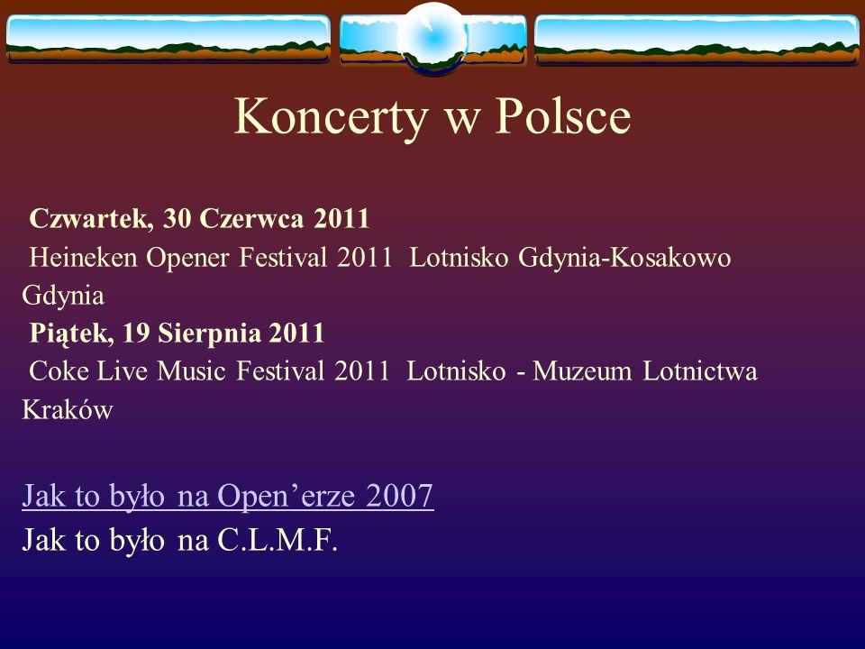 Koncerty w Polsce Jak to było na Open'erze 2007