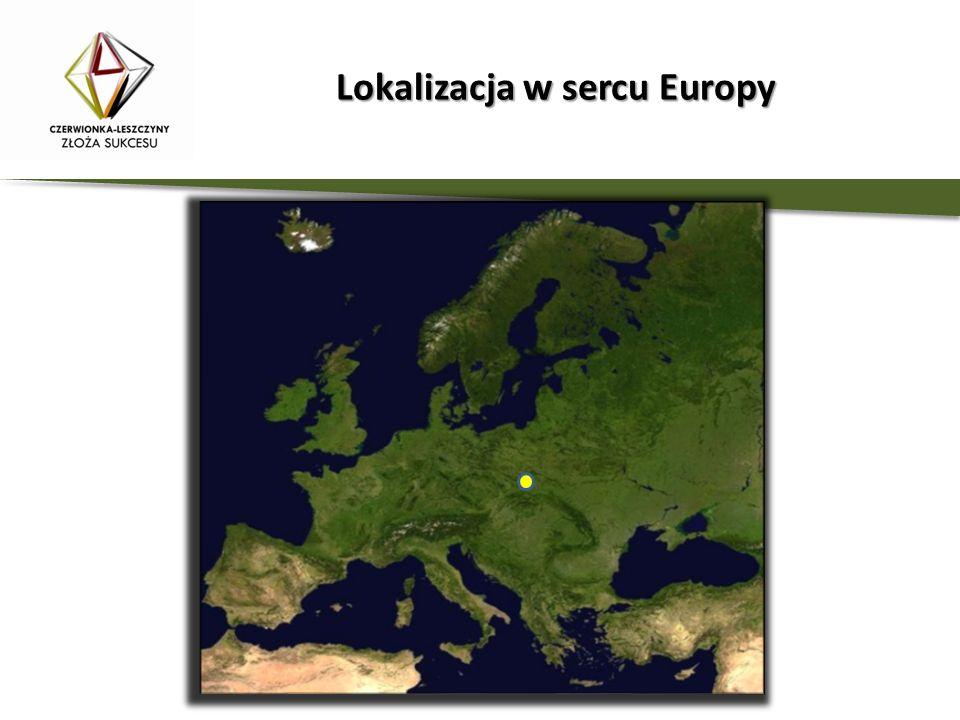 Lokalizacja w sercu Europy