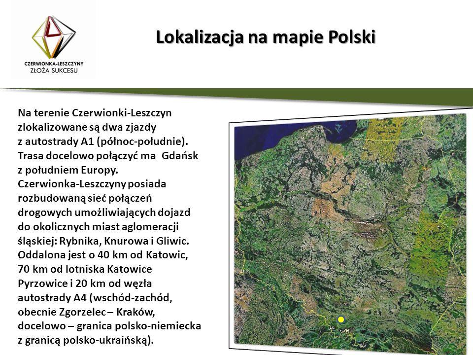 Lokalizacja na mapie Polski
