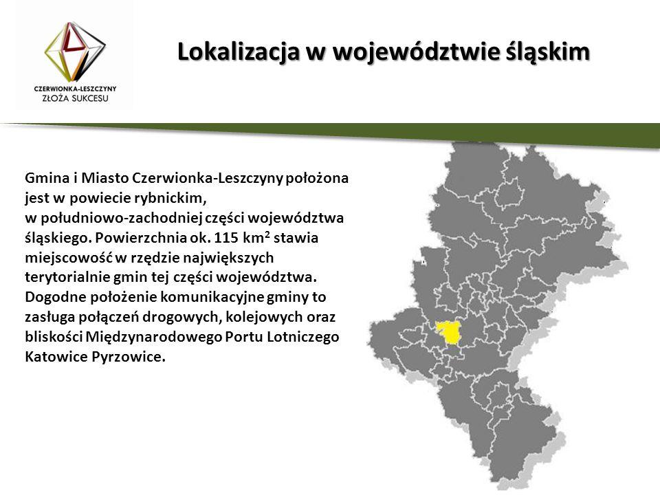 Lokalizacja w województwie śląskim