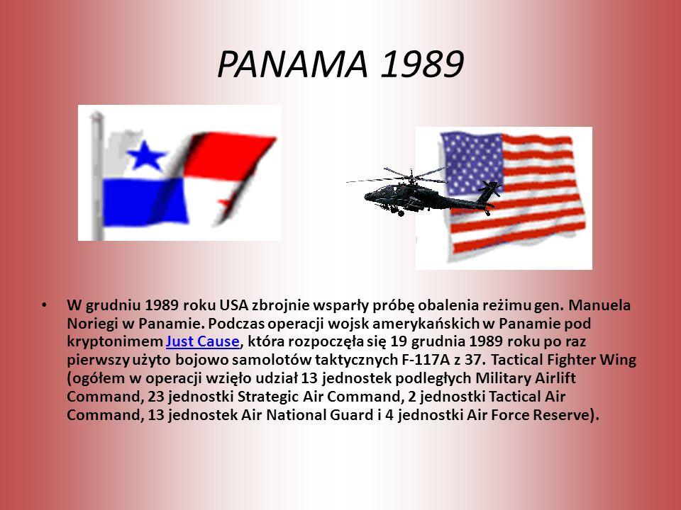 PANAMA 1989