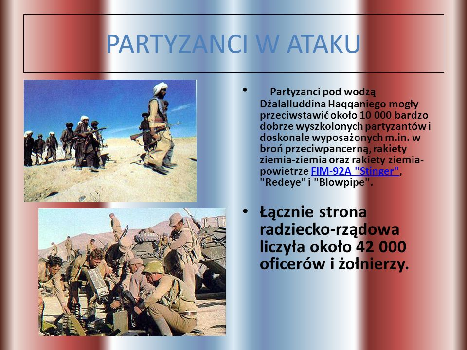 PARTYZANCI W ATAKU