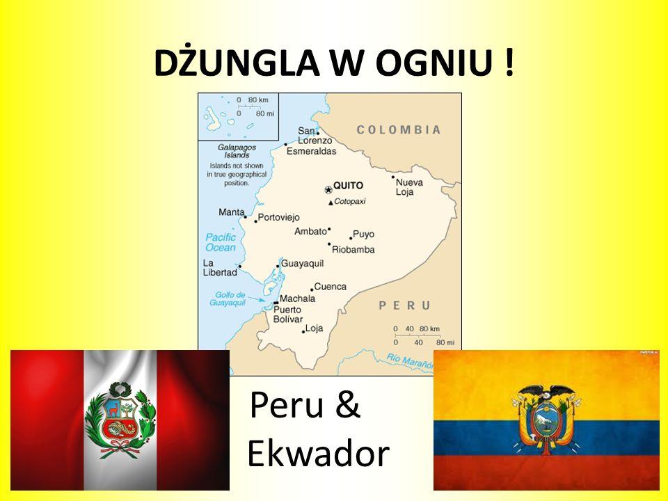 DŻUNGLA W OGNIU ! Peru & Ekwador