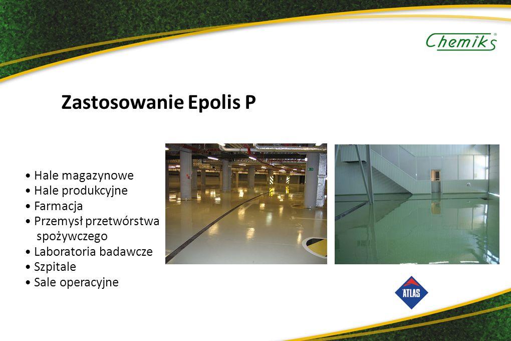 Zastosowanie Epolis P Hale magazynowe Hale produkcyjne Farmacja