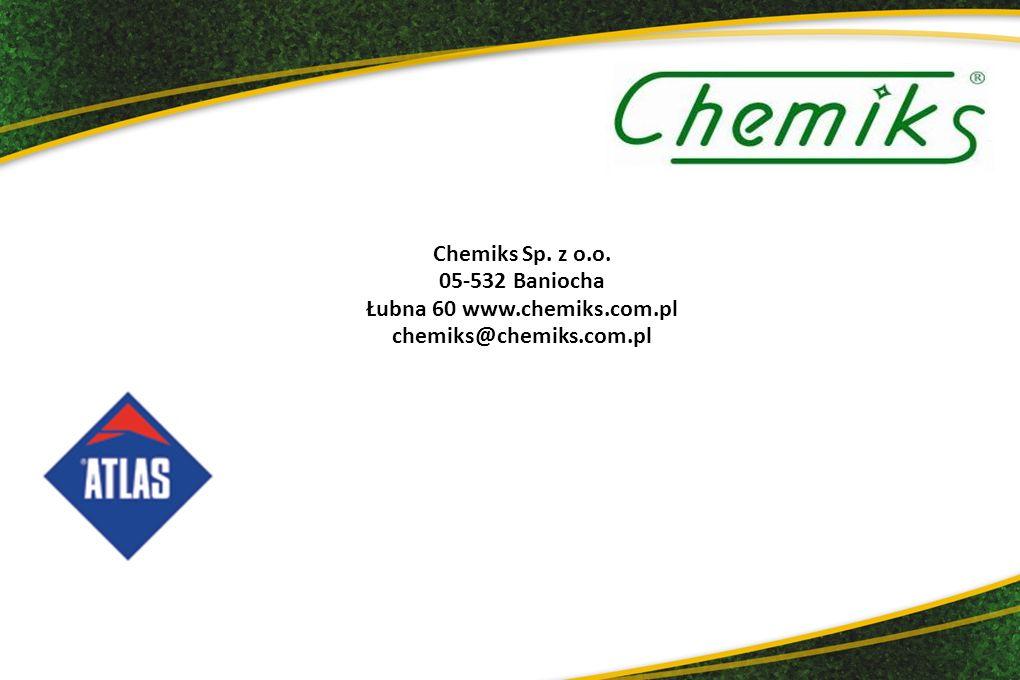 Łubna 60 www.chemiks.com.pl