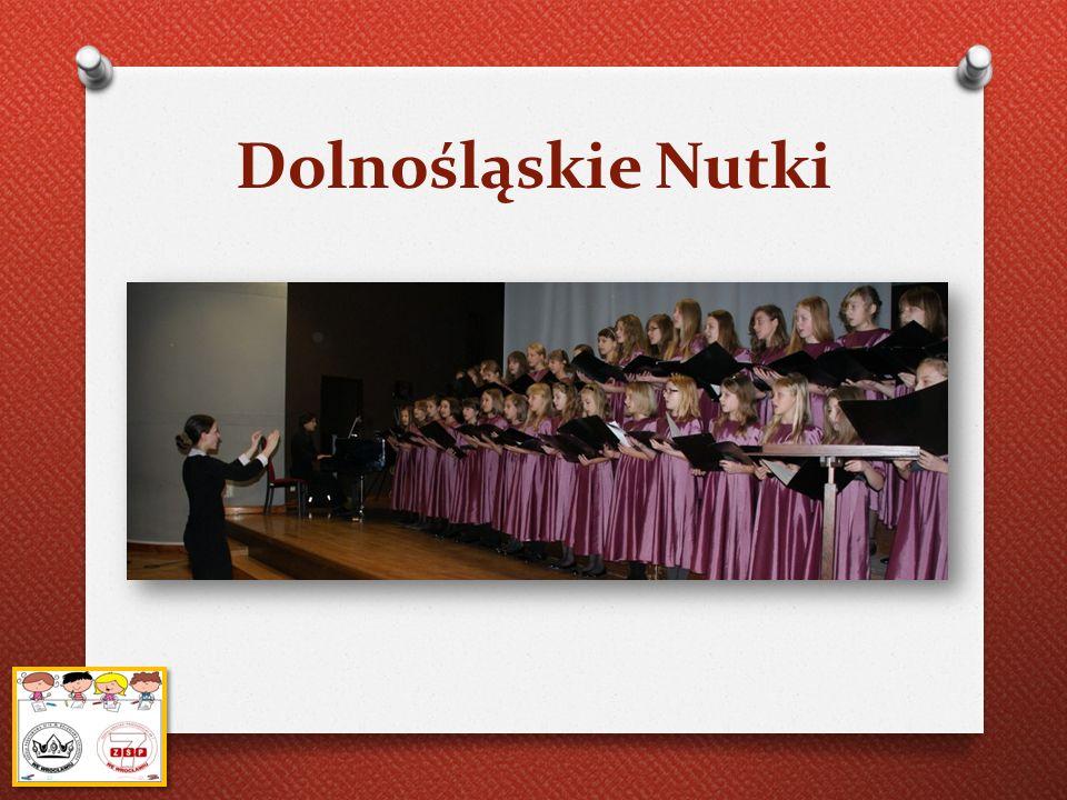 Dolnośląskie Nutki Kończący się dziś rok szkolny był czasem wielkiej aktywności oraz sukcesów dla dyrygowanego przez panią Ulę Polak chóru.
