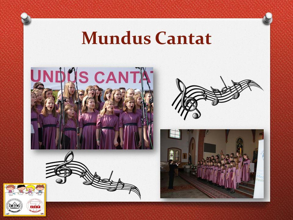 """Mundus Cantat W maju """"Dolnośląskie Nutki zdobyły trzecie miejsce w Międzynarodowym Festiwalu Chóralnym """"Mundus Cantat w Sopocie."""