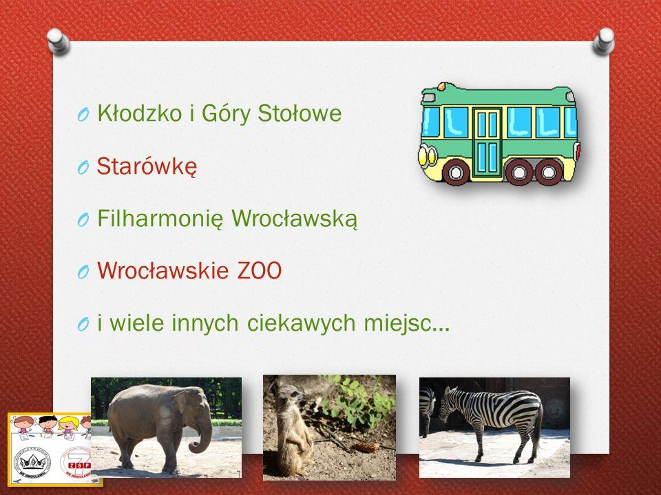 Filharmonię Wrocławską Wrocławskie ZOO