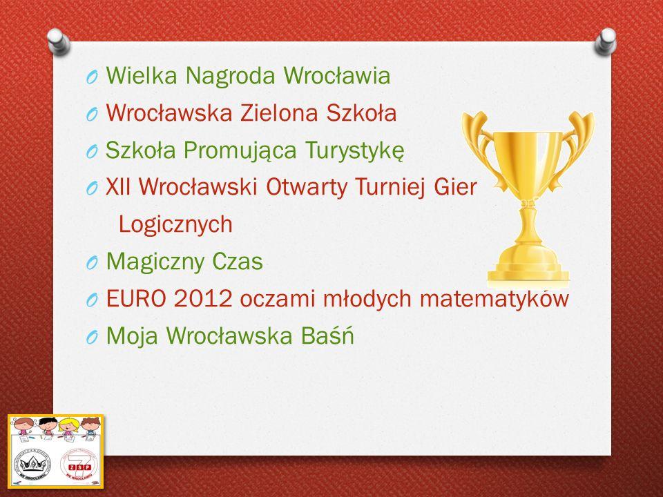 Wielka Nagroda Wrocławia Wrocławska Zielona Szkoła