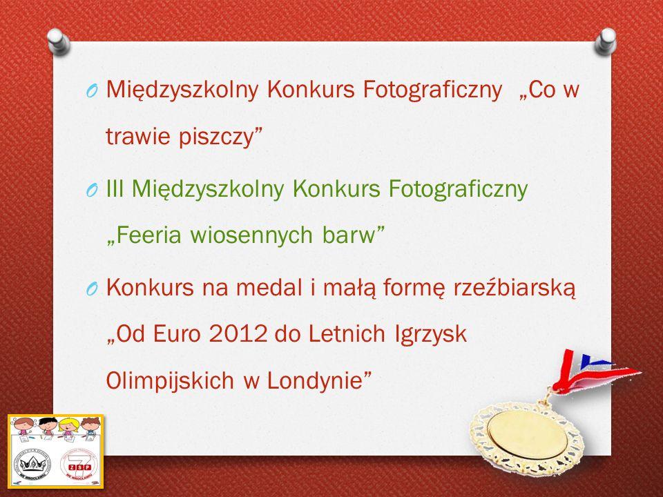 """Międzyszkolny Konkurs Fotograficzny """"Co w trawie piszczy"""