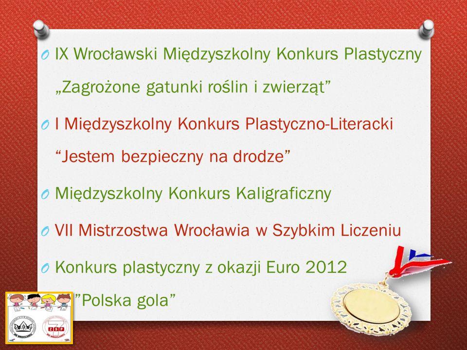 """IX Wrocławski Międzyszkolny Konkurs Plastyczny """"Zagrożone gatunki roślin i zwierząt"""