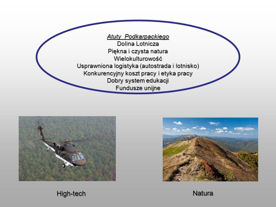 High-tech Natura Atuty Podkarpackiego Dolina Lotnicza