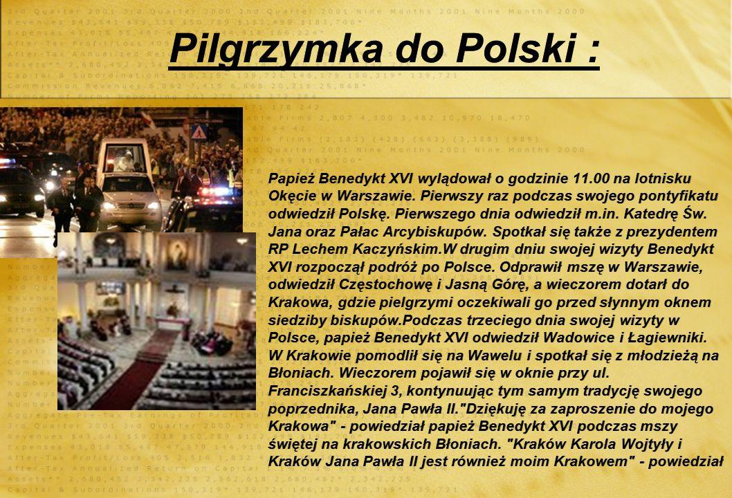 Pilgrzymka do Polski :