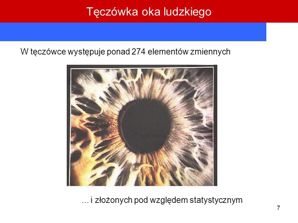 Tęczówka oka ludzkiego