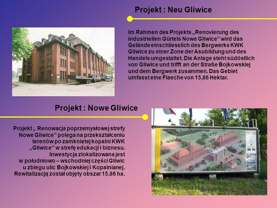 Projekt : Neu Gliwice Projekt : Nowe Gliwice