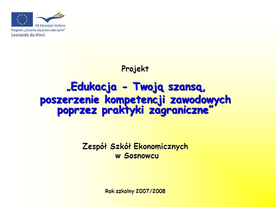 poszerzenie kompetencji zawodowych poprzez praktyki zagraniczne