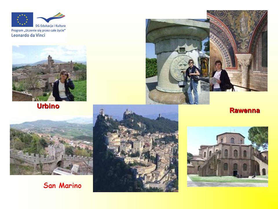 Urbino Rawenna San Marino