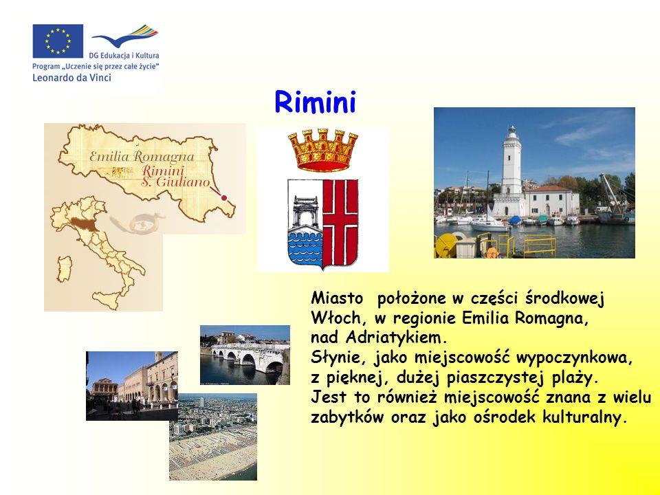 Rimini Miasto położone w części środkowej