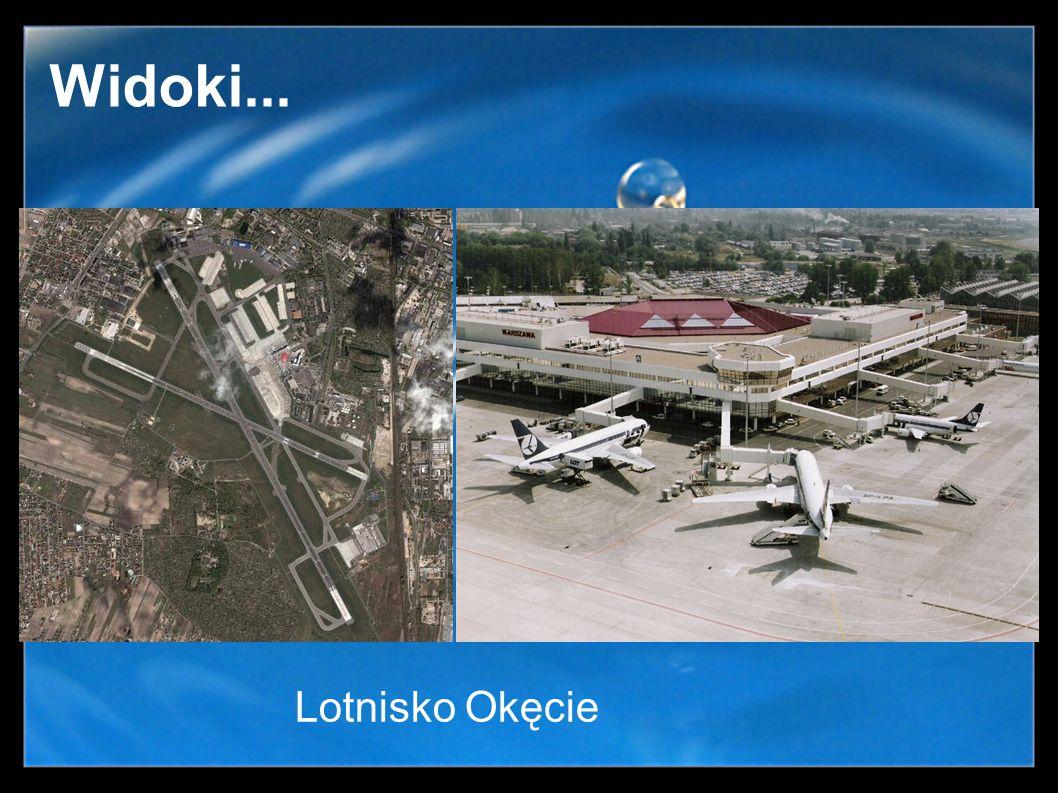 Widoki... Lotnisko Okęcie