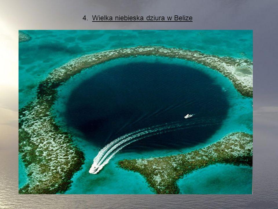 4. Wielka niebieska dziura w Belize