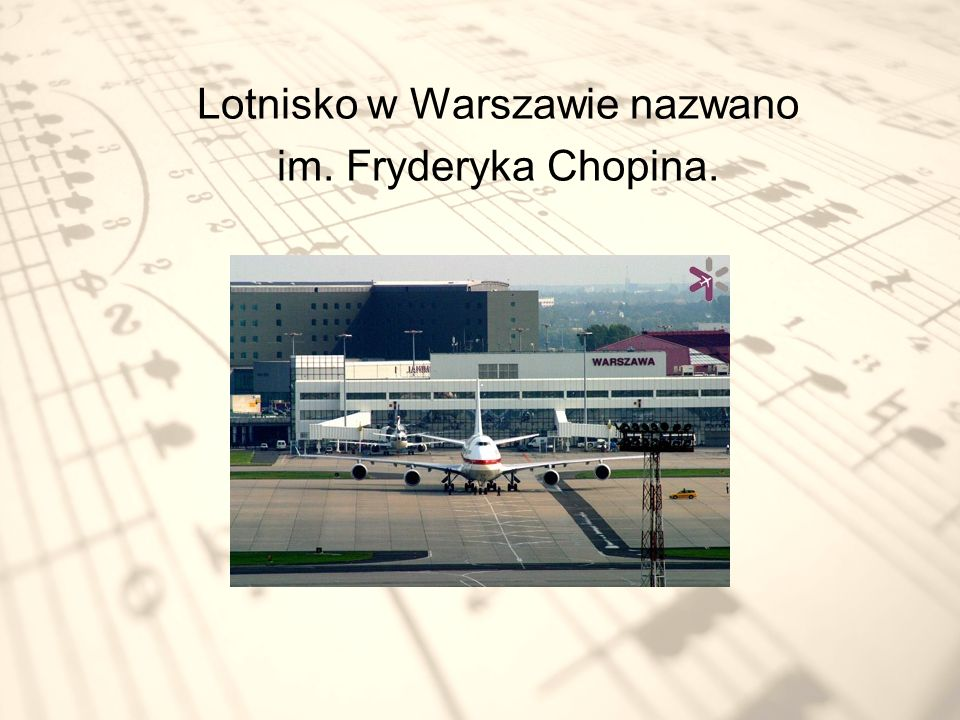 Lotnisko w Warszawie nazwano