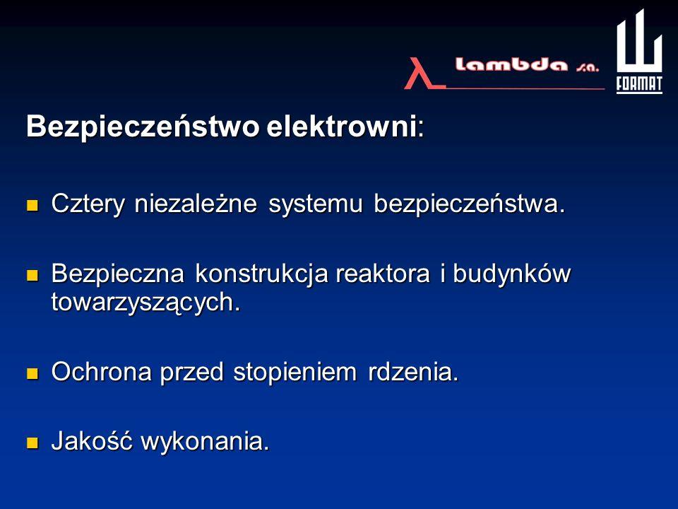 Bezpieczeństwo elektrowni:
