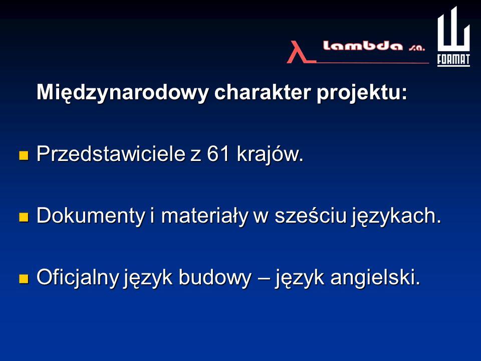 Międzynarodowy charakter projektu: