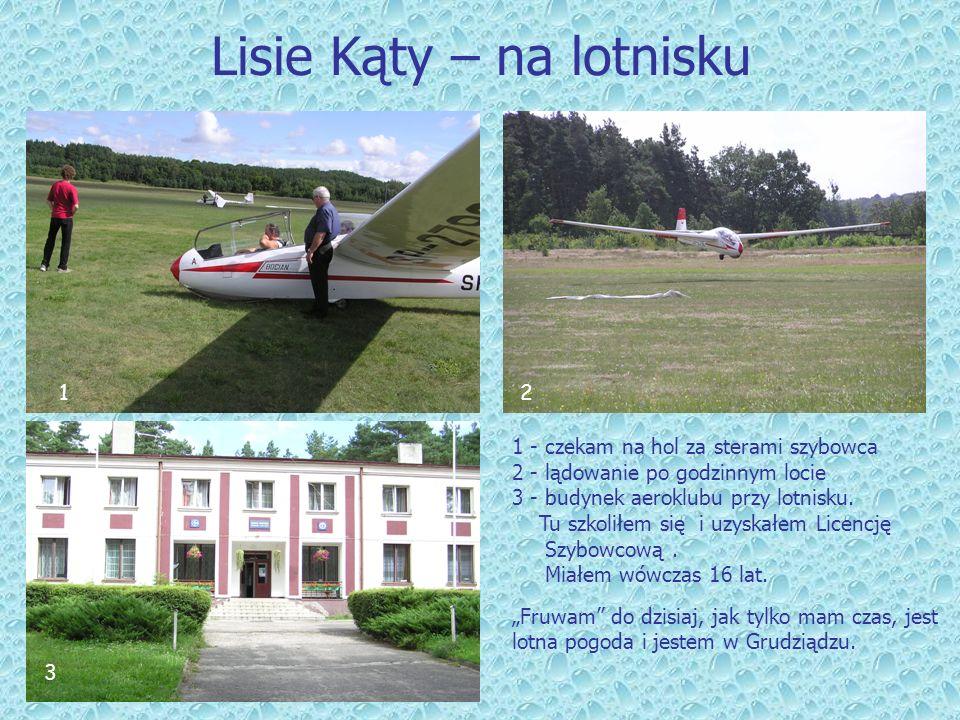 Lisie Kąty – na lotnisku
