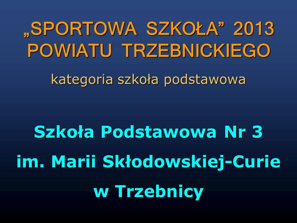 POWIATU TRZEBNICKIEGO im. Marii Skłodowskiej-Curie