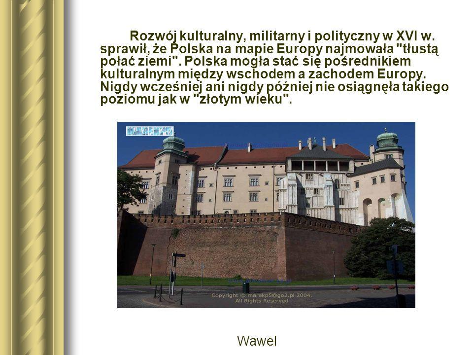 Rozwój kulturalny, militarny i polityczny w XVI w