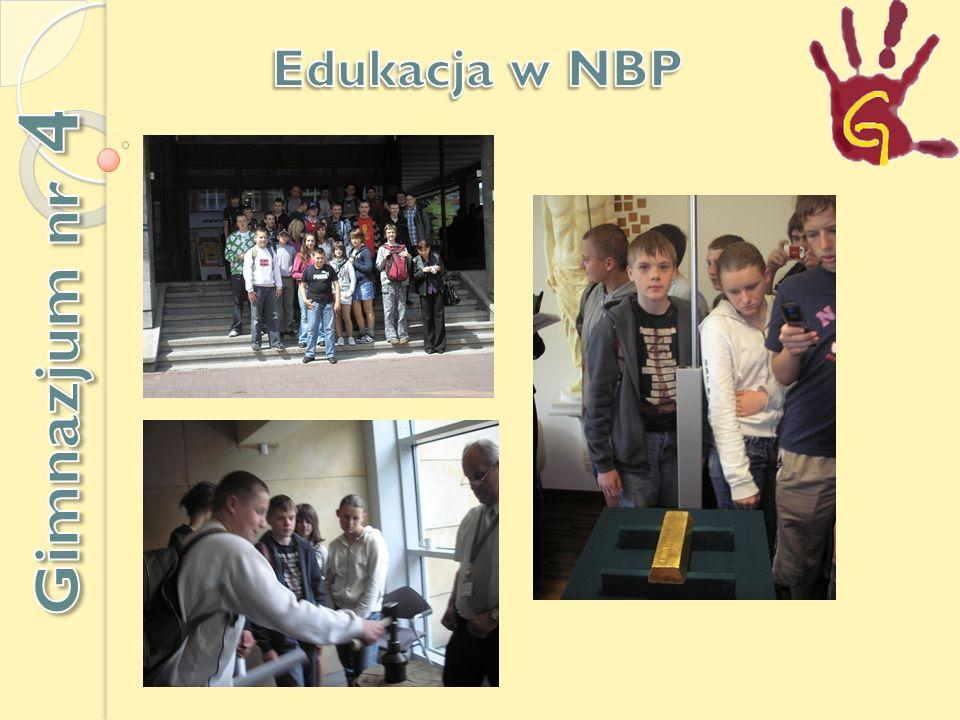 Edukacja w NBP Gimnazjum nr 4