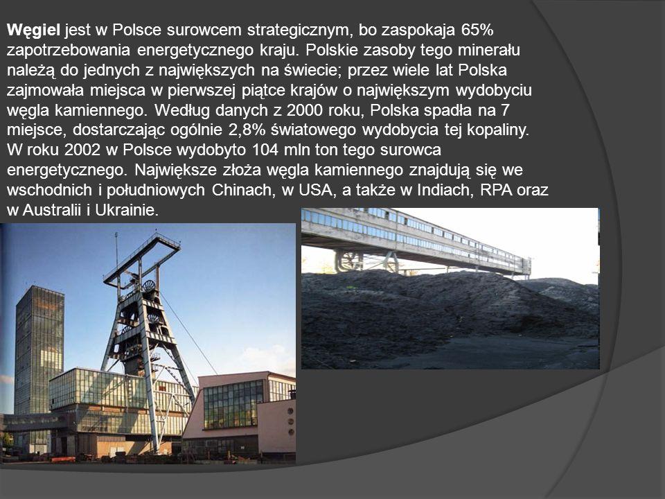 Węgiel jest w Polsce surowcem strategicznym, bo zaspokaja 65%