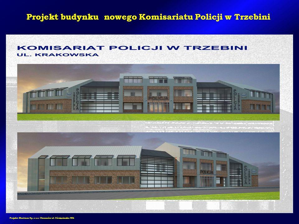 Projekt: Meritum Sp. z o.o. Chrzanów ul. Oświęcimska 90b