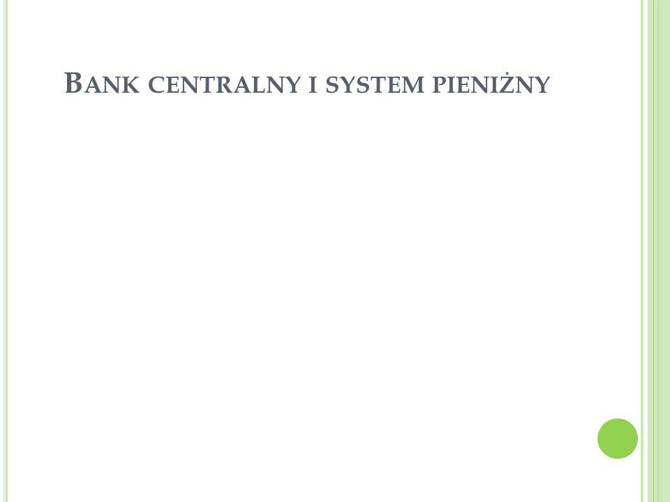 Bank centralny i system pieniżny