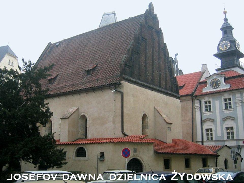 JOSEFOV DAWNA dzielnica ŻYdowska