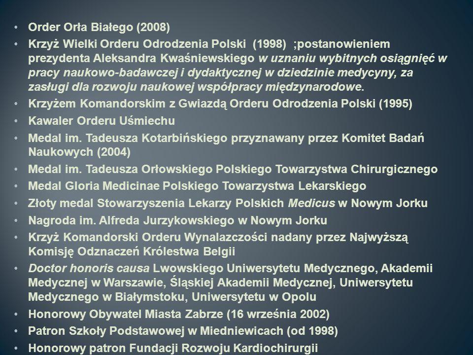Order Orła Białego (2008)