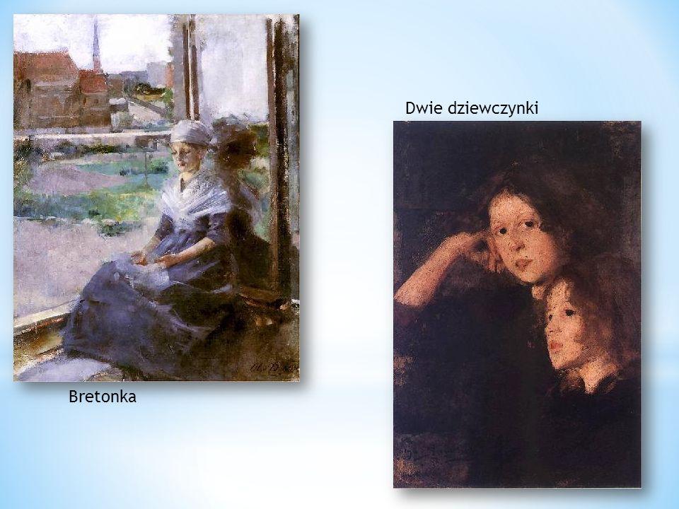 Dwie dziewczynki Bretonka
